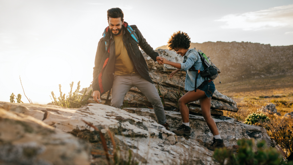 people hiking just got life insurance
