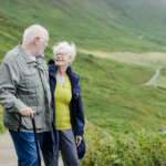 man and woman in retirement