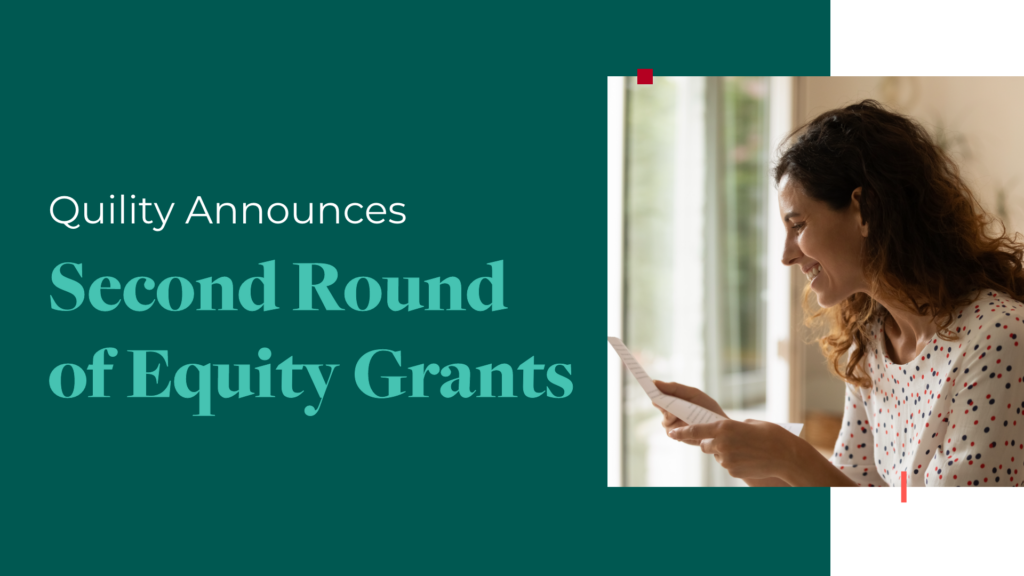 Quility announces second round of equity grants